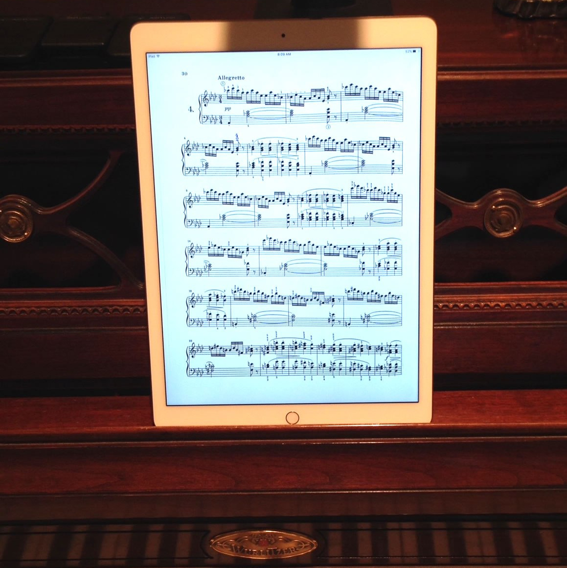 A Note On iPads in Auditions…